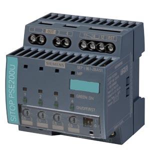 6EP1961-2BA51 - PSE200U 3 A NEC CLASS 2 4-CHANNEL SELECTIVITY MODULE 24 V DC/12 A 24 V/4X 3A