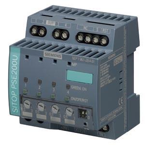6EP1961-2BA61 - PSE200U 3 A NEC CLASS 2 4-CHANNEL SELECTIVITY MODULE 24 V DC/12 A 24 V/4X 3A
