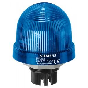 8WD5300-1AF - LAMPA SYGNALIZACYJNA ŚWIATŁO CIĄGŁE NIEBIESKI 12 - 230 V AC/DC