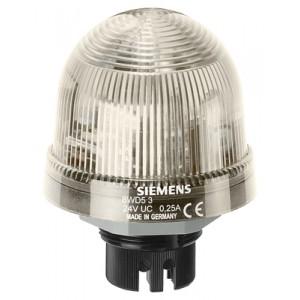 8WD5320-0CE - LAMPA SYGNALIZACYJNA ŚWIATŁO BŁYSKOWE PRZEZROCZYSTY 24 V AC/DC
