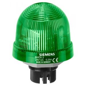 8WD5320-5AC - LAMPA SYGNALIZACYJNA ŚWIATŁO CIĄGŁE ZIELONY 24 V AC/DC