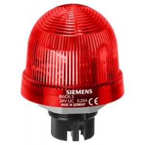8WD5340-0CB - LAMPA SYGNALIZACYJNA ŚWIATŁO BŁYSKOWE CZERWONY 115 V AC