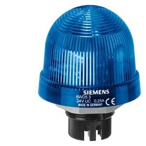 8WD5340-0CF - LAMPA SYGNALIZACYJNA ŚWIATŁO BŁYSKOWE NIEBIESKI 115 V AC