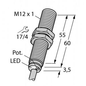 BC3-M12-AP6X – Czujnik pojemnościowy – 2601000