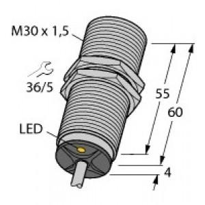BI15-M30-AP6X – Czujnik indukcyjny z rozszerzonym zakresem detekcji – 4618530