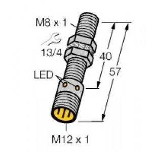BI2-EG08-AP6X-H1341 - Czujnik indukcyjny z rozszerzonym zakresem detekcji
