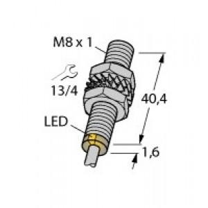 BI2-EG08-AP6X Czujnik indukcyjny z rozszerzonym zakresem detekcji