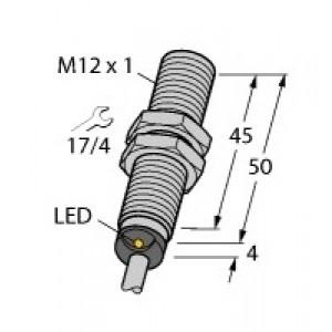 BI4-M12-AP6X - Czujnik indukcyjny z rozszerzonym zakresem detekcji