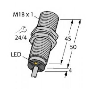 BI8-M18-AP6X Czujnik indukcyjny z rozszerzonym zakresem detekcji