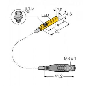 BIM-UNR-AP6X-0.3-PSG3M – Czujnik magneto-indukcyjny – 4685832