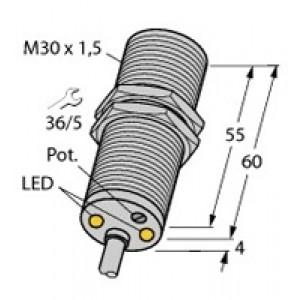 DBI10U-M30-AP4X2 - Czujnik indukcyjny, czujnik prędkości obrotowej