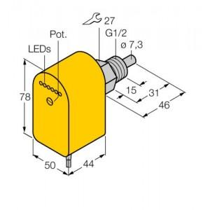 FCS-G1/2A4P-VRX/24VDC – Czujnik przepływu – 6870096