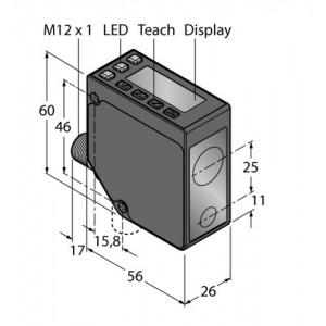 LE250IQ –  Czujnik fotoelektryczny, czujnik laserowy – 91681