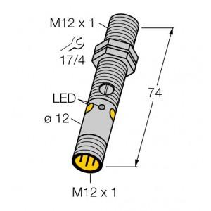 M12PFF50Q8 – Czujnik fotoelektryczny, czujnik odbiciowy – 77195