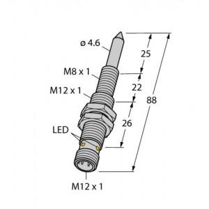 NIMFE-M12/4.6L88-UP6X-H1141 – Czujnik magneto-indukcyjny – 1600608