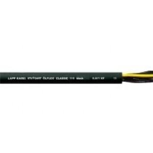1120457 - Przewód sterowniczy OLFLEX CLASSIC 100 BK, Power 0,6/1kV, 3G1