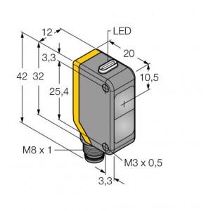Q20ELQ7 – Czujnik fotoelektryczny, czujnik przeciwsobny – 78160