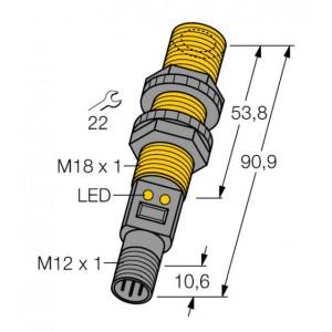 S18UIAQ – Czujnik ultradźwiękowy, czujnik odbiciowy – 2703