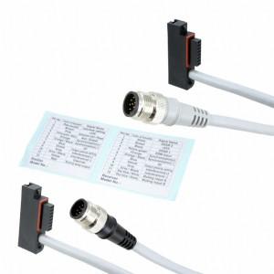 SFB-CB05-MU - Komplet krótkich przewodów przyłączeniowych do mutingu z konektorem M12