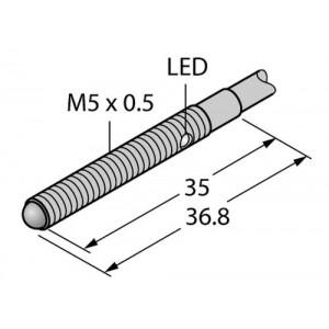 VSM5AP6CV10 – Czujnik fotoelektryczny, czujnik zbieżny – 13374